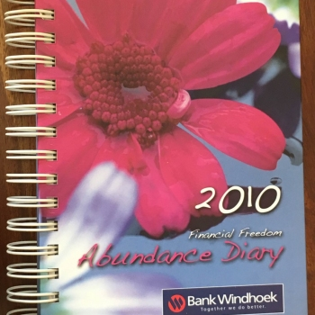 2010 Bank Windhoek Abundance Diary - Soft Cover