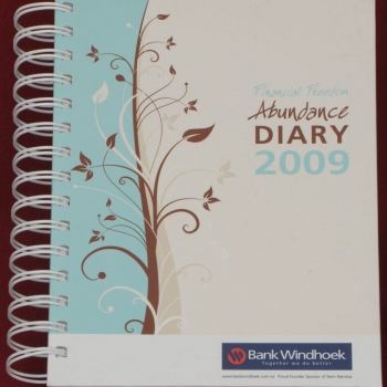 2009 Bank Windhoek Abundance Diary - Soft Cover