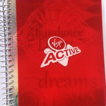2013 Virgin Active Abundance Diary - Soft Cover