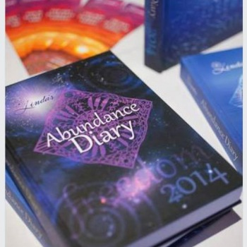 2014 Abundance Diary - Purple Hard Cover