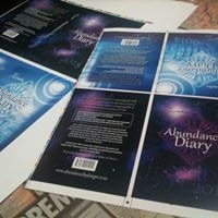 2014 Abundance Diary - Blue & Purple