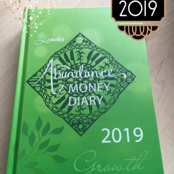 2019 Abundance Money Diary - Hard Cover