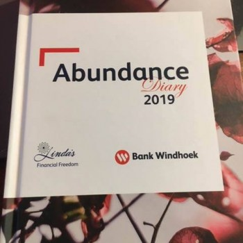 2019 Bank Windhoek Abundance Diary - Hard Cover
