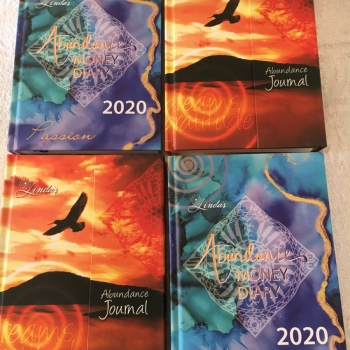 2020 Abundance Money Diary - Hard Cover & Journal