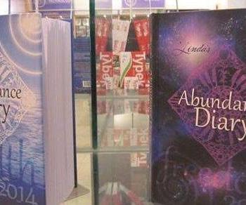 2014 Abundance Diary - Purple Hard Cover