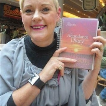 2013 Abundance Diary - Lavender Soft Cover