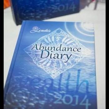 2014 Abundance Diary - Blue Hard Cover