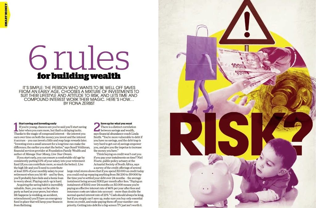 6 RULES FOR BUILDING WEALTH